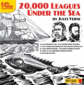 1С: Аудиокниги. 20000 Leagues Under The Sea. (by Jules Verne). (mp3)